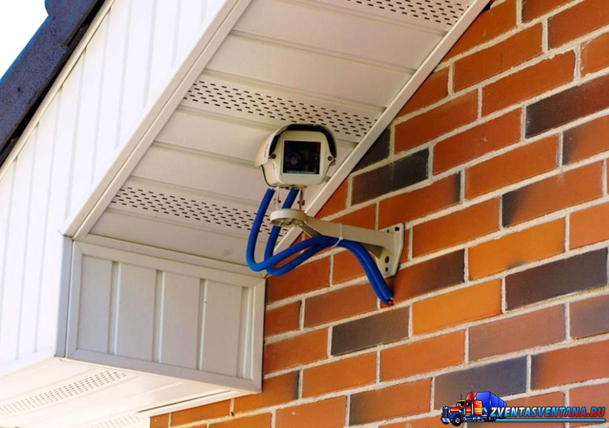 Установить камеры видеонаблюдения дома своими руками 60