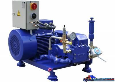 Насосные агрегаты высокого давления