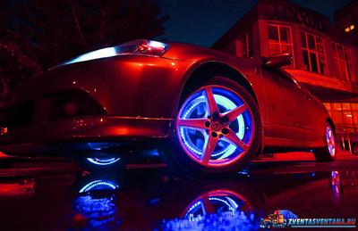 Куда можно крепить светодиодные ленты в автомобиле?