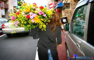 Доставка изысканных цветочных композиций