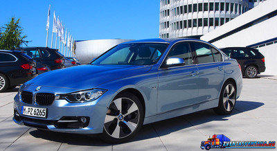 LA авто шоу: BMW ActiveHybrid