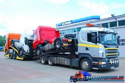 Для постройки завода на Ямале закуплены тягачи Scaniа новой модели
