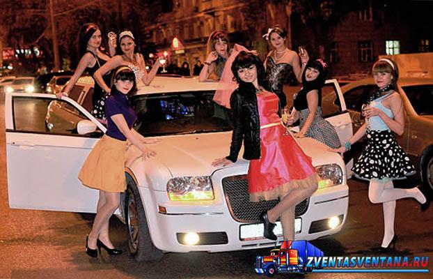 Аренда лимузинов и VIP авто на свадьбу в Курске